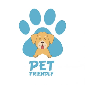 Fumetto amichevole dell'animale domestico