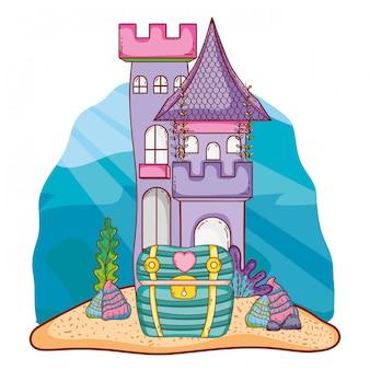 Fumetto del castello sottomarino