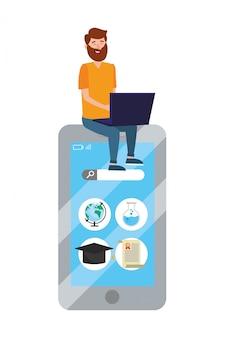 Fumetto di educazione online