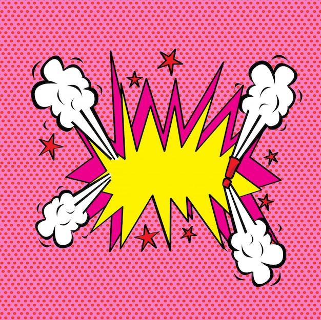 Fumetto di esplosione