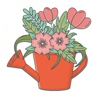Fumetto di fiori natura floreale