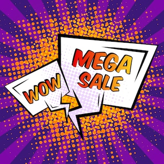 Fumetto di vendita