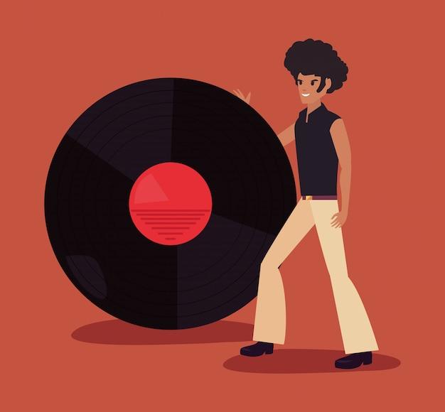 Funk ballerino di persone