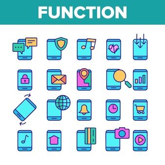 Funzione app per smartphone
