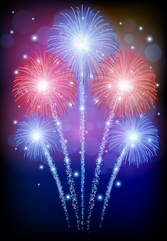 Fuochi d'artificio belli