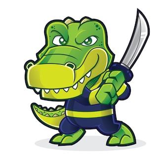 Gator warrior