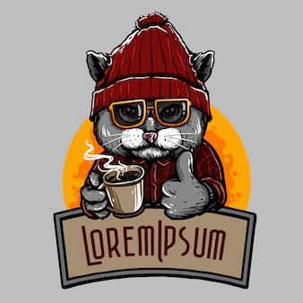 Gatto di caffè