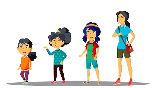 Generazione asiatica femminile