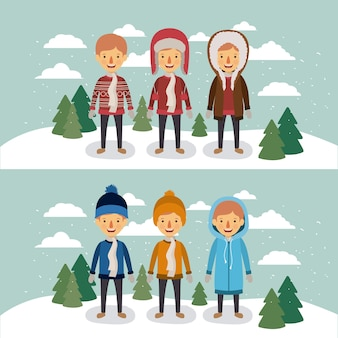 Gente d'inverno