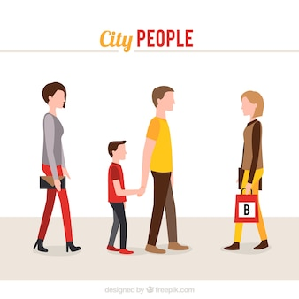 Gente di città europee