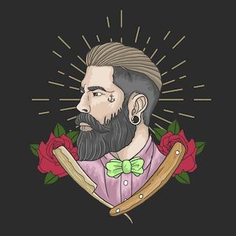 Gentiluomo da barbiere