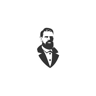 Gentiluomo disegno illustrazione isolato