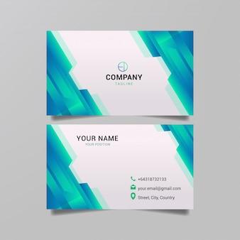 Geometria disegno astratto per il business delle carte.