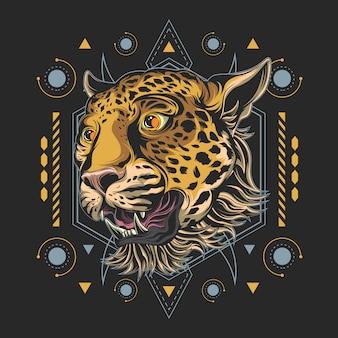 Geometria sacra del ghepardo