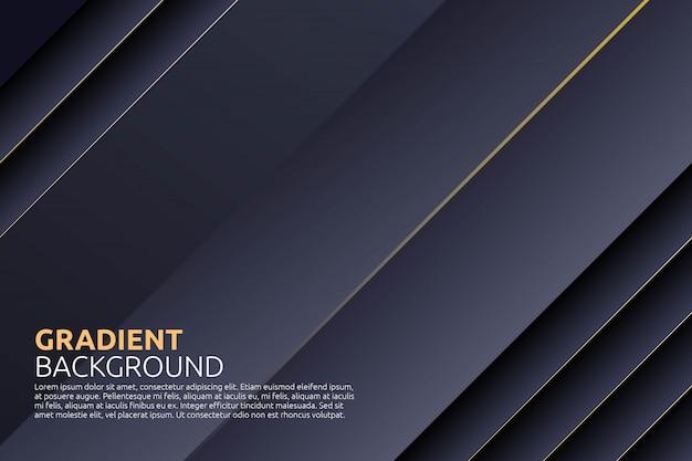 Geometrico astratto con stile stipe a sfondo nero
