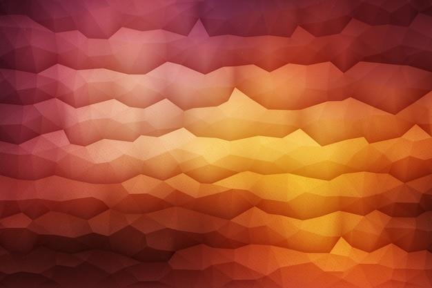 Geometrico astratto sfondo arancione