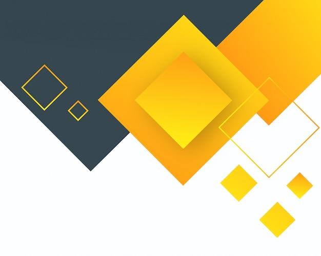 Geometrico astratto sfondo giallo