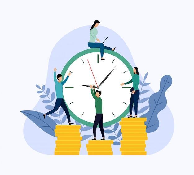 Gestione del tempo, pianificatore, affari