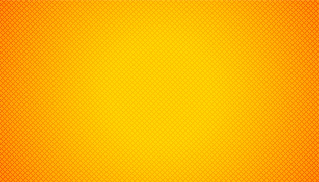 Giallo arancio vuoto con motivi geometrici