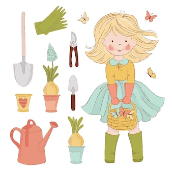 Giardinaggio joy accessori per la cura della primavera
