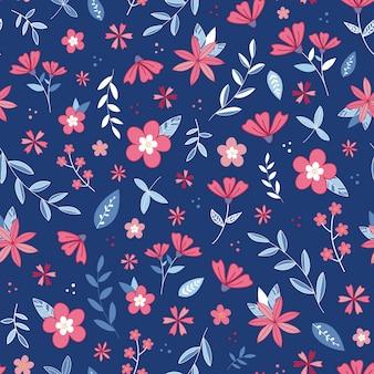 Giardino fiorito fiore senza soluzione di continuità