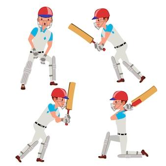 Giocatore di cricket maschio