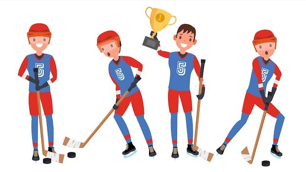 Giocatore di hockey su ghiaccio