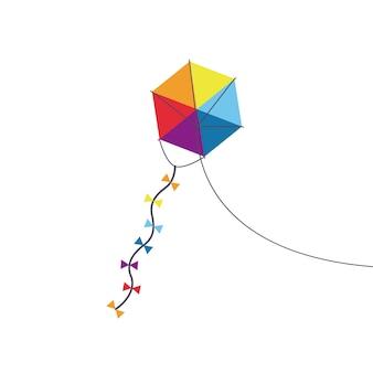 Giocattolo aquilone multicolore