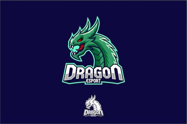 Gioco del logo di dragon esport