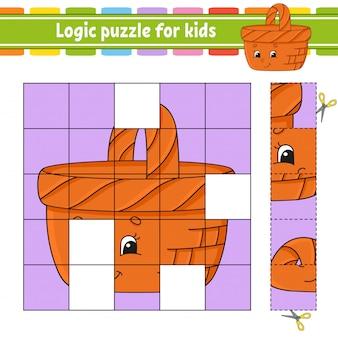 Gioco di logica per bambini.