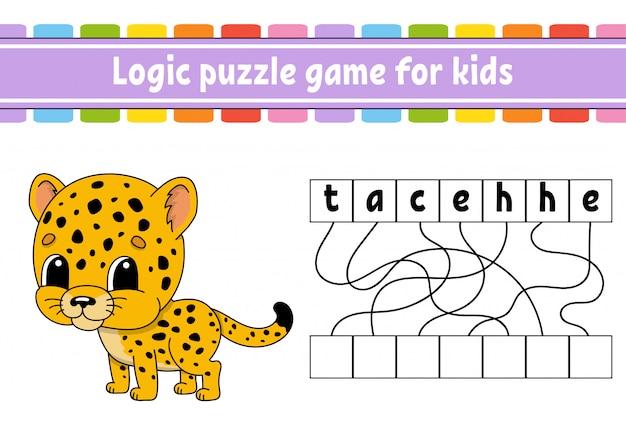 Gioco di puzzle di logica.