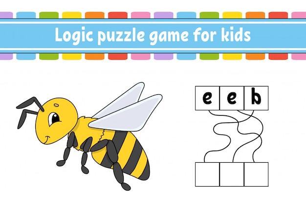 Gioco di puzzle logico.