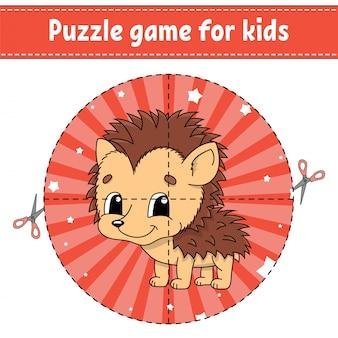 Gioco di puzzle per bambini.