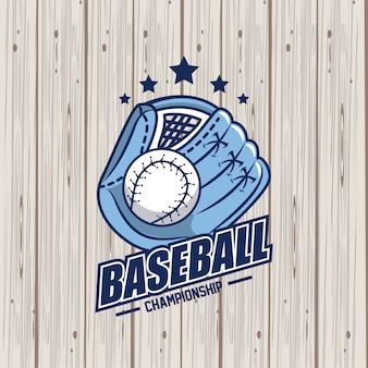 Gioco di sport di baseball