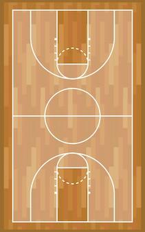 Gioco di sport in legno da basket