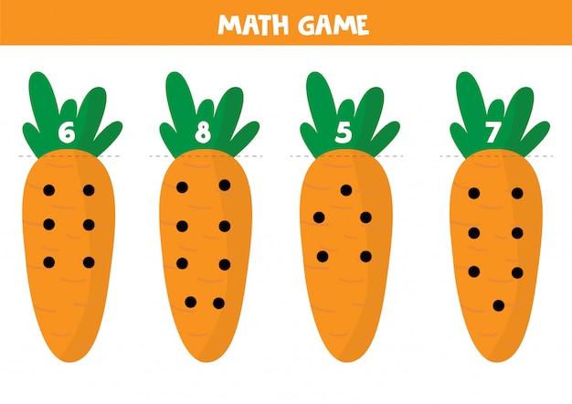 Gioco educativo di matematica per bambini