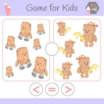 Gioco educativo logico per bambini in età prescolare