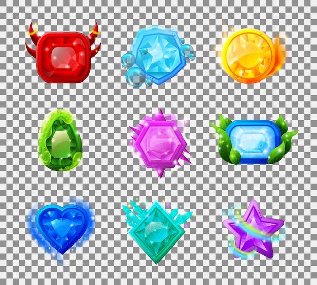 Gioco web gemme magiche