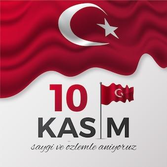 Giornata commemorativa di atatürk realistica