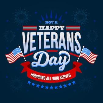 Giornata dei veterani - scritte