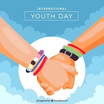 Giornata della gioventù con le mani unite