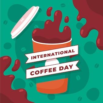 Giornata internazionale dell'illustrazione del caffè