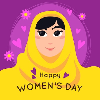Giornata internazionale della donna con saluto
