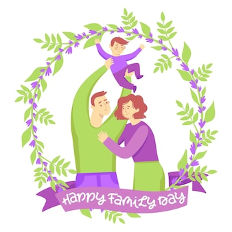 Giornata internazionale delle famiglie disegnare