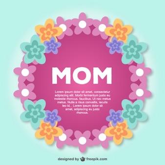 Giornata libera la grafica della madre