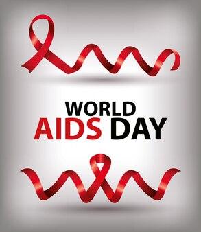 Giornata mondiale degli aiuti con i nastri
