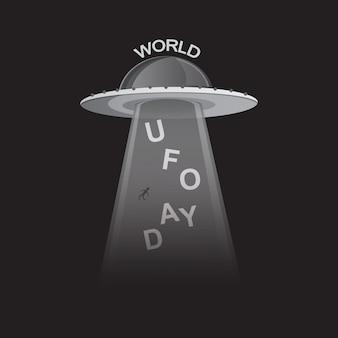 Giornata mondiale degli ufo in bianco e nero