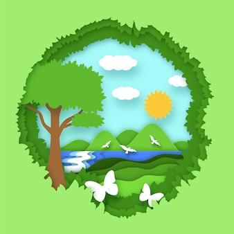 Giornata mondiale dell'ambiente con la natura