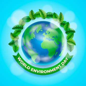 Giornata mondiale dell'ambiente realistico