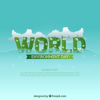 Giornata mondiale dell'ambiente sfondo